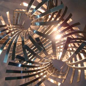 Unique Design Twisted Art Iron Cutting Pendant Lamp pictures & photos