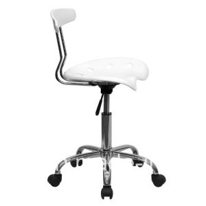 Commercial Used Round ABS Bar Chairs with Wheels Zs-A8101 pictures & photos