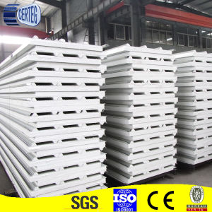 White Colour EPS Roof Sandwich Panel pictures & photos