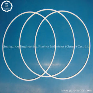 CNC Machining PTFE Seal Ring Plastic Ring White Teflon Seal Ring pictures & photos