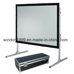 Large Fast Fold Screen / Fast Folding Projection Screen pictures & photos