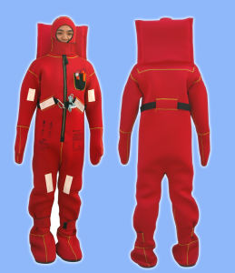 Marine Insulated Immersion Suit / Thermal Protective Clothing for Survival pictures & photos