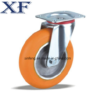 China Supplier High Quality PU Castor Wheel for Middle Duty pictures & photos