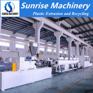 China High Speed PVC Electrical Conduit Pipe Extrusion Machine pictures & photos