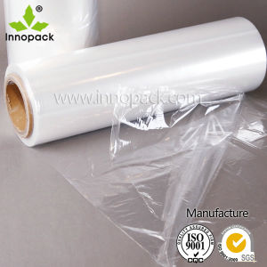 Clear, Transparent Cast Hand/Automatic Use LLDPE Plastic Stretch Film pictures & photos