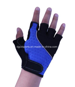 Fashion Neoprene Bike Glove for Half Finger pictures & photos