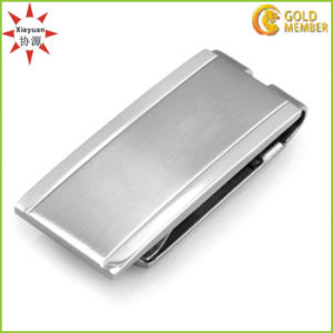 Wholesale Cheap Zinc Alloy Casting Nickel Money Clips with Customized Logo pictures & photos