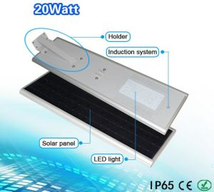 Solar LED Street Light, 20W All in One Solar Street Light pictures & photos