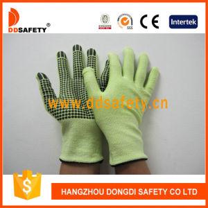 13 Gauge Fluorescence Liner Cut-Resistance Glove Dcr213 pictures & photos