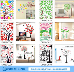 Non-Damage Wall Face PVC Decal Sticker pictures & photos