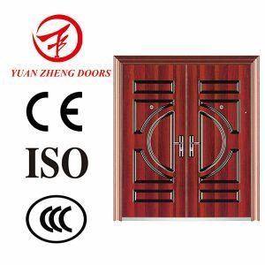 2016 Latest Design Steel Double Security Door pictures & photos