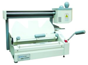 Tabletop Type Perfect Binding Machine pictures & photos