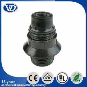 E14 Bakelite Lamp Holder Half Threading with Ring