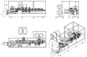 Non-PVC Soft Transfusion Bag Production Line pictures & photos