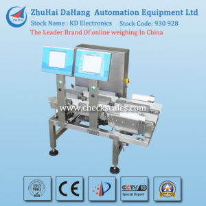 Checkweigher and Weight Checking Machine with Double Lines for Food Industry pictures & photos