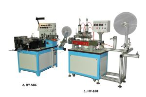 Special Function Label Cutting and Folding Machine (HY-168+HY-586) pictures & photos