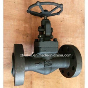 1500lb 2500lb Forged Carbon Steel A105 Flange End Globe Valve
