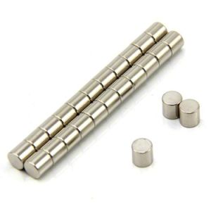 Sintered Cylinder Neodymium/ NdFeB Permanent Magnet pictures & photos