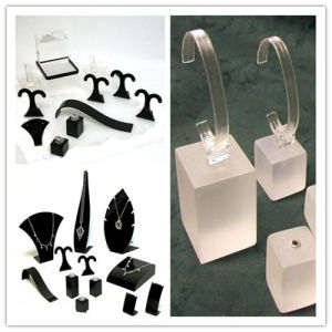 Acrylic Jewelry Display, Clear Plastic Jewelry Stand pictures & photos