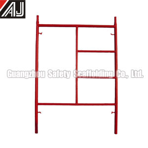 Masonry Ladder Frame Scaffolding, Guangzhou Manufacturer pictures & photos