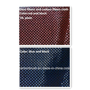 looking for plain weave 3k glass fiber and carbon fiber cloth pictures & photos