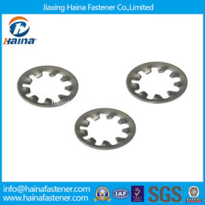 Stainless Steel Internal Tooth Lock Washer DIN6798 pictures & photos