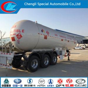 Parkistan Trailer Mounted Tanks Q345r Trailer Tanker Propane LPG 56cbm LPG Trailer Transporters pictures & photos
