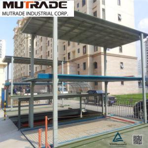 2-3 Floors Motor Drive Pit Four Post Mechanical Parking Lift pictures & photos