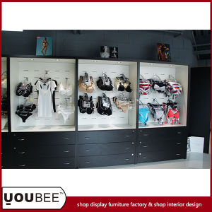 New Arrival Ladies′ Lingerie Display Showcase for Retail Lingerie Shop pictures & photos