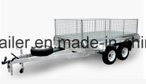 Australia Style 10X5 Galvanised Heavy Duty Tandem Trailer pictures & photos