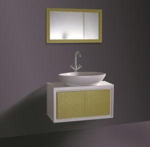 Simple Wall Mounted Bathroom Basin Stainless Steel Bathroom Vanities pictures & photos