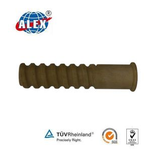 Rail Fastener Plastic Dowel for Different Sizes of Screw Spikes pictures & photos
