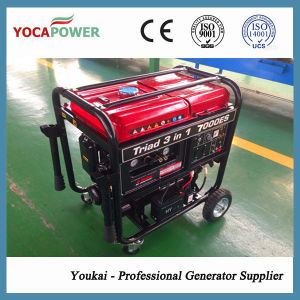 New Design 4kw Gasoline Generator & Air Compressor & Welding Integrated Set pictures & photos
