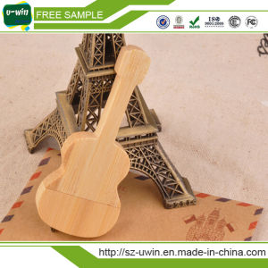 Wooden Guitar USB Flash Drive USB Drive Pen Drive for Promation pictures & photos