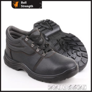 Industrial Leather Safety Boots with Steel Toe and Steel Midsole (SN5260) pictures & photos