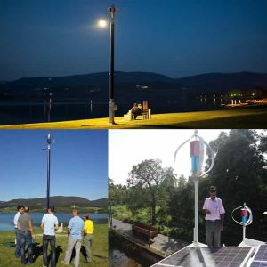 400W Maglev Wind Energy Generator for Electric Vehicle Charge Station pictures & photos