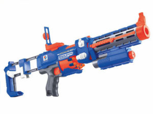 Plastic Toy of B/O Gun with Flashing Laser Light (H3599022) pictures & photos