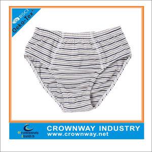 Custom Yarn Dyed Cute Boy Brief Underwear pictures & photos