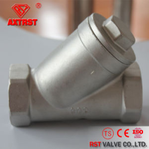 Stainless Steel Threaded (CF8/CF8M/WCB) 800psi Y Strainer pictures & photos