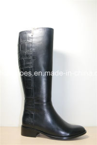 Newest Fashion Casual Ladies or Women Leather Boots pictures & photos