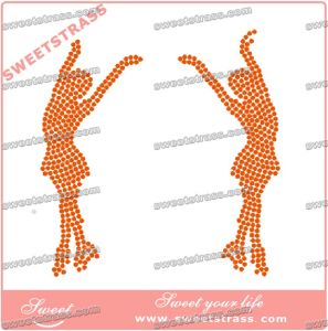Iron on Strass in The Motif for Clothes pictures & photos