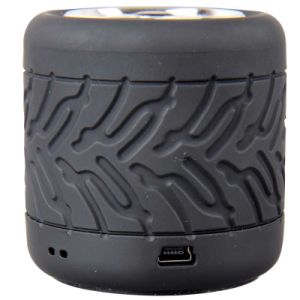 Gymsense GS-08 Round Mini Bluetooth Speaker Audio Tire Speaker Wheel Speaker