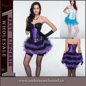 High Quality Wholesale Bustier Camisole Sexy Corset (TWK1595-2) pictures & photos