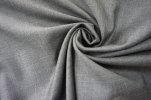Plain Weave Wool Fabric Gry for Suit pictures & photos