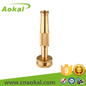 "Brass Mist Sprinkler Nozzle 4"" Brass Adjustable Nozzle pictures & photos"