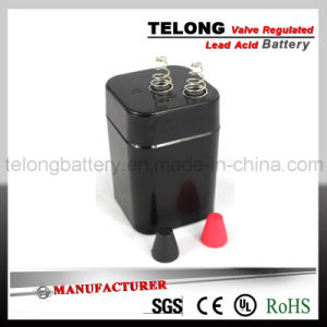 6V 4.5ah Rechargeable Power Battery (Lead Acid Battery) pictures & photos