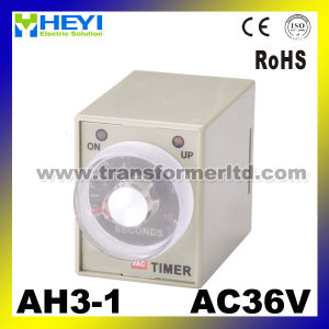 Ah3 Electric Time Relay 220V 24V 12V Timer Relays pictures & photos