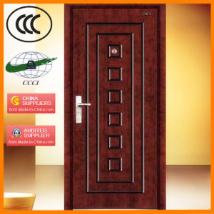 Wooden Fire Rated Door with Steel Structure (GMFM-1022-dk5A1.50-1)