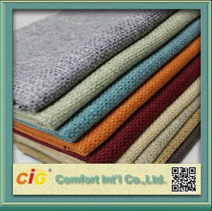 Chinese Polyester Material Woven Sofa Fabric pictures & photos