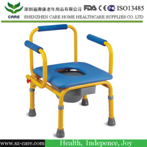 Rehabilitation Therapy Supplies Commode Chair for Children Use